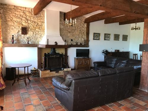 Comfortable indoor seating